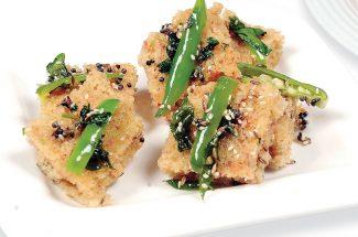 food and recipe fruity and tasty bites amur japapeni tandoori jhinga