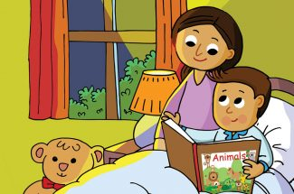 hindi-story-for-kids-aryabn-ne-padhi-kahani