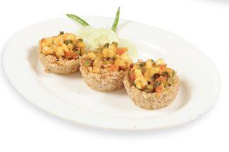 food-and-recipe-in-hindi-healthy-breakfast-dalliya paneer cups