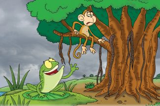 hindi story for kids frankey and first rain