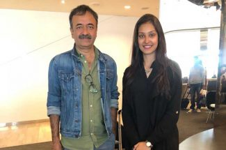 bollywood navneet dhillon met her dream director rajkumar hirani