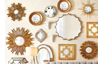 homecare tips i hindi decorate your home by decorative mirrors