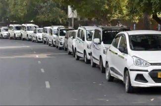 ola uber cab strike