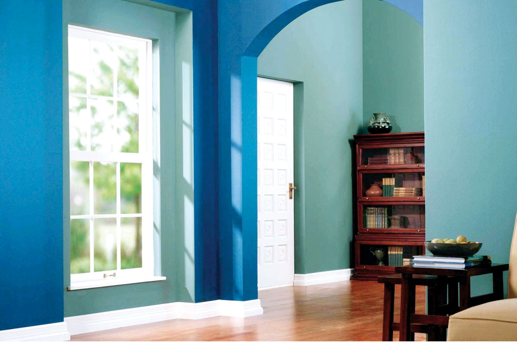 Pleasant Home Interior Paint Color Combinations Room Colour Design