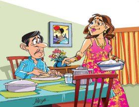हमारी आहार विशेषज्ञा पत्नी
