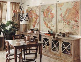 पुराने नक्शों से घर को दें नया लुक