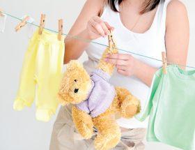 नन्हे मुन्नों के कपड़ों का रखरखाव