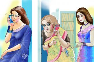 hindi best stories maa aur mobile