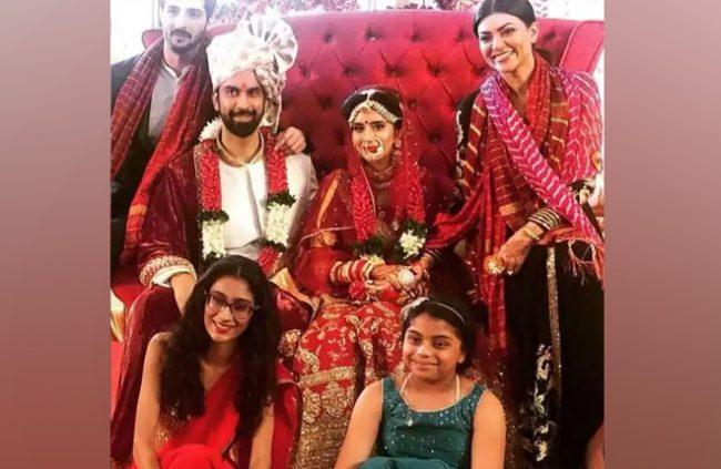 sushmita-sen's-brother-wedding