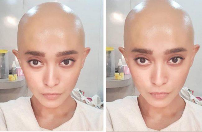 sayani-gupta-bald-look