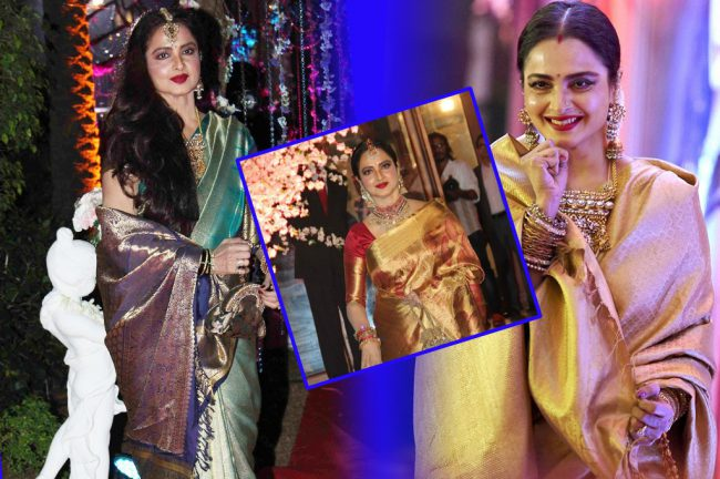 rekha-in-saree