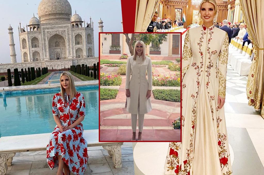 Image result for इवांका का स्टाइलिश अंदाज, सुर्खियों में रही ये 3 ड्रेस